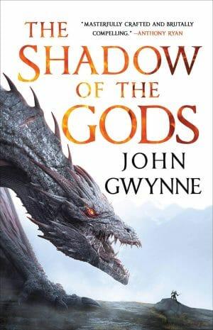 Shadow of the Gods by John Gwynne Book Cover